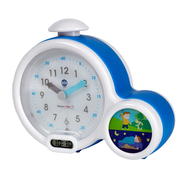 Réveil Kid'Sleep Clock Bleu - Mon premier réveil Kid'Sleep Clock Bleu - Mon premier réveil