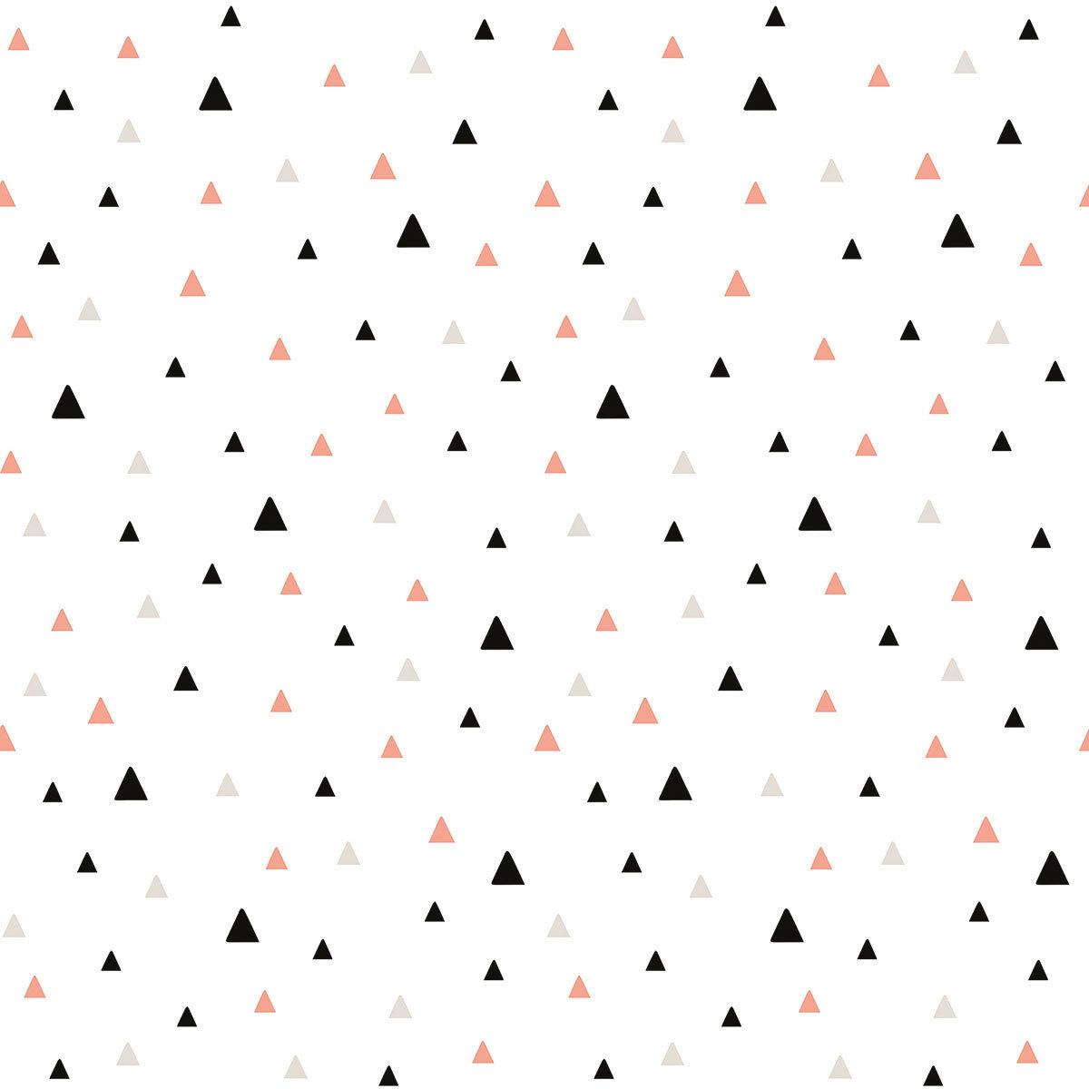 Lilipinso Origami Play Papier Peint Petits Triangles Noir