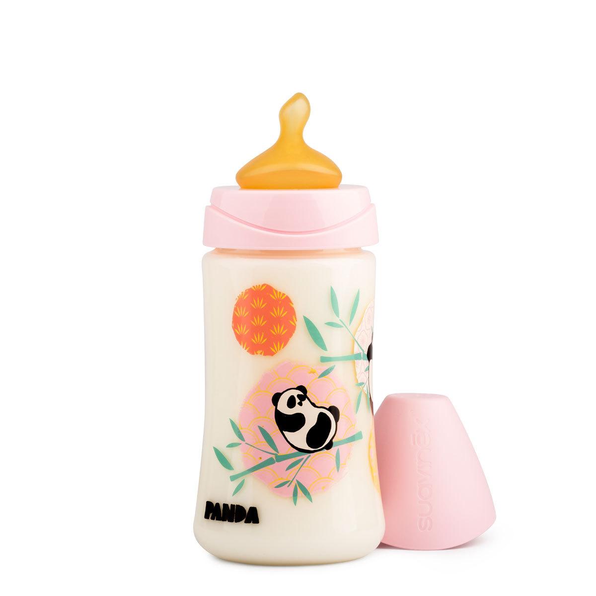 Biberon Biberon 270 ml Panda - Rose Biberon 270 ml Panda - Rose