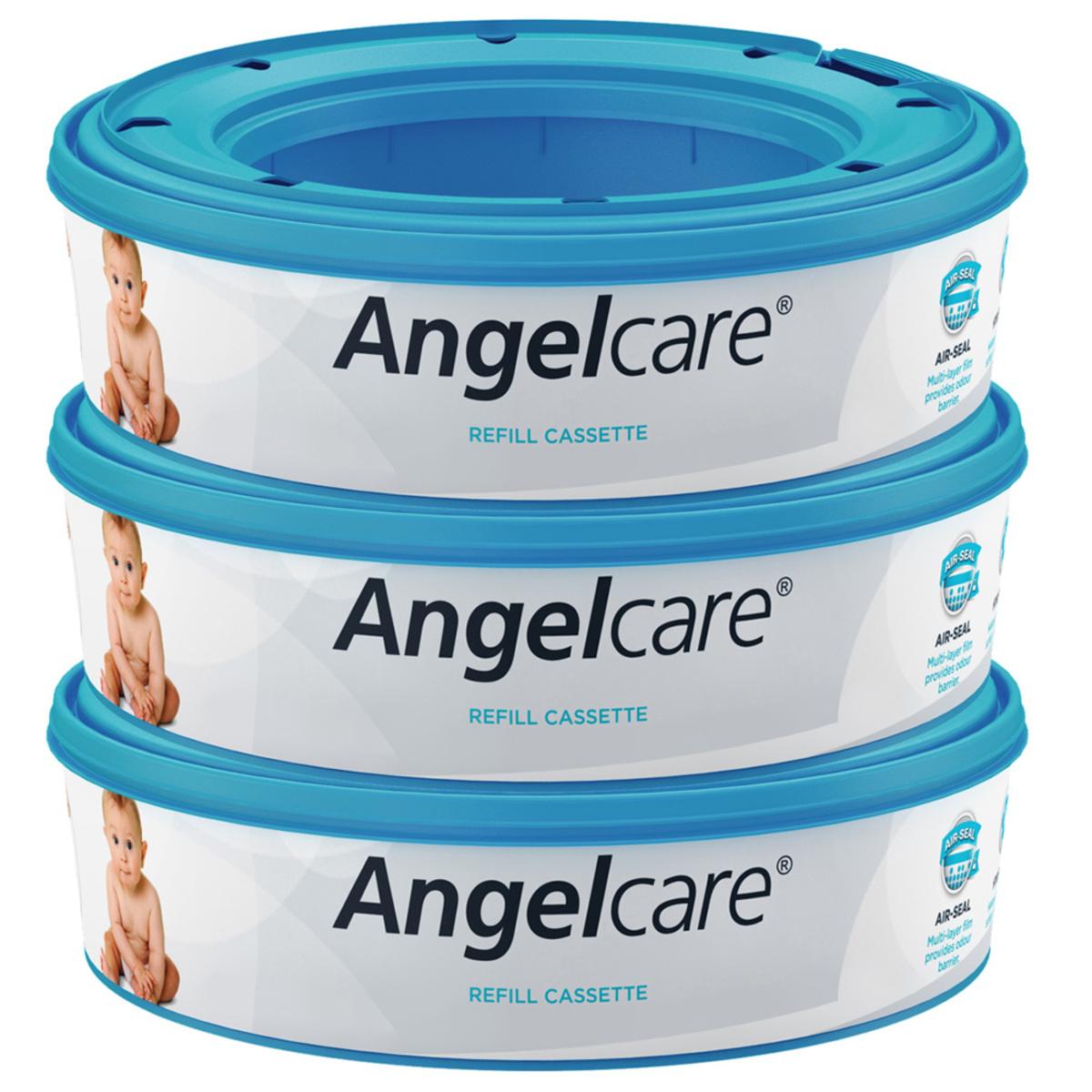 Couche Lot de 3 Recharges pour Poubelle Angelcare Lot de 3 Recharges pour Poubelle Angelcare