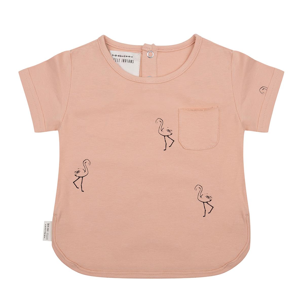 Hauts bébé T-Shirt Flamingo Corail - 9/12 Mois T-Shirt Flamingo Corail - 9/12 Mois