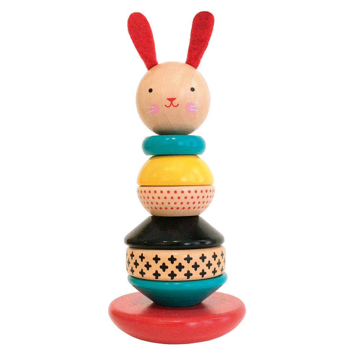 Mes premiers jouets Lapin à Empiler Petit Collage - AR201801090116