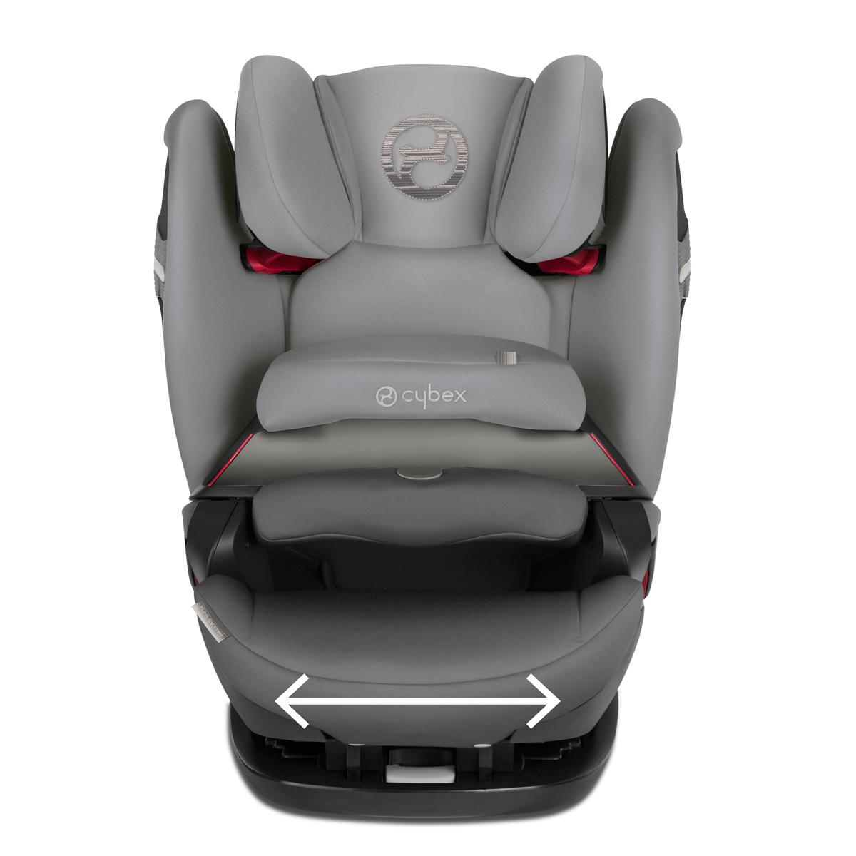 cybex si ge auto pallas s fix isofix groupe 1 2 3 manhattan grey si ge auto et coque cybex. Black Bedroom Furniture Sets. Home Design Ideas