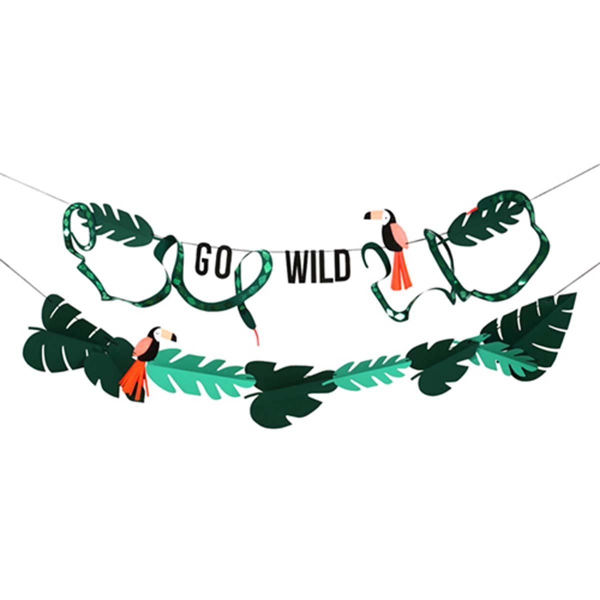 Anniversaire & Fête Guirlande Go Wild Guirlande Go Wild