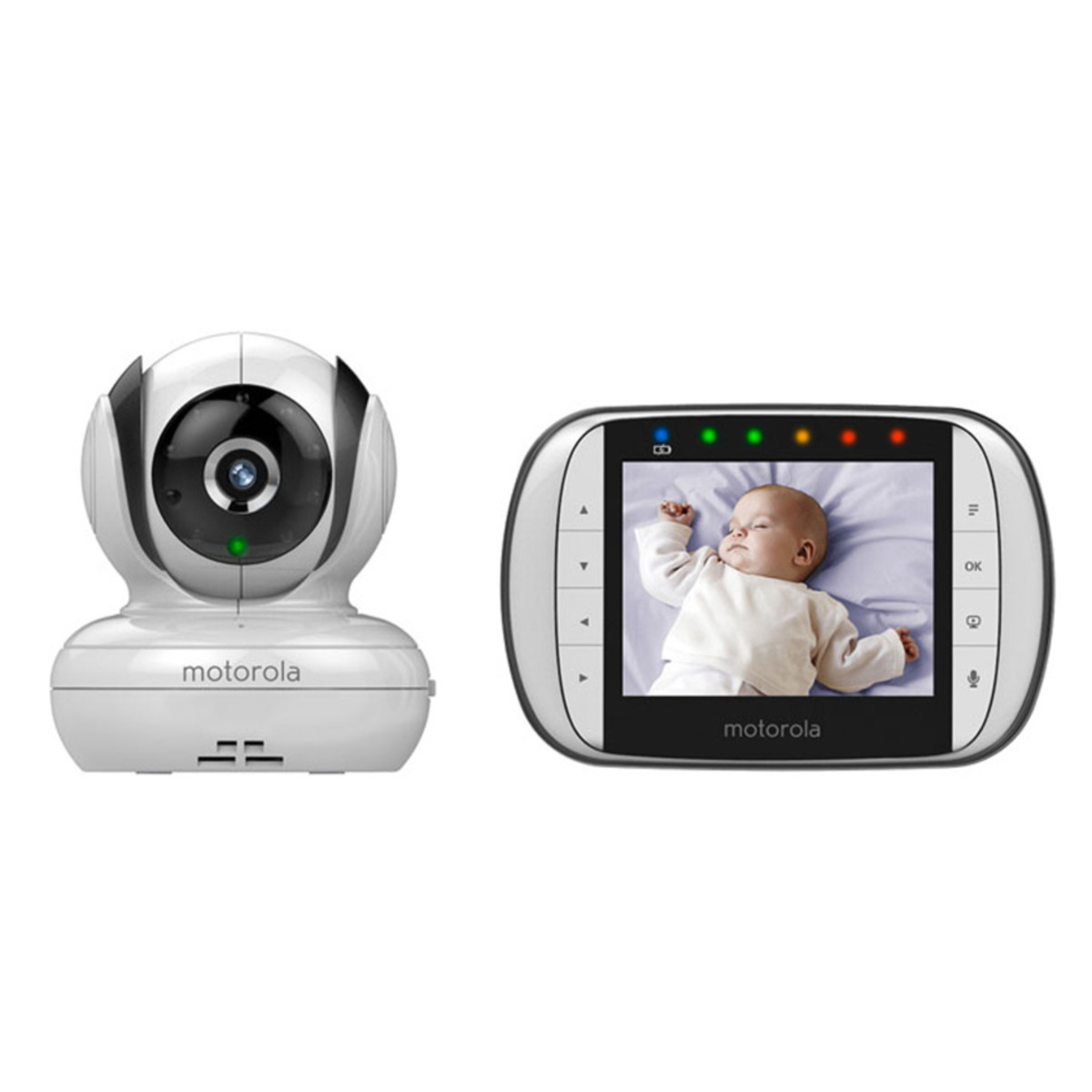 motorola baby babyphone video mbp36sc coute b b. Black Bedroom Furniture Sets. Home Design Ideas