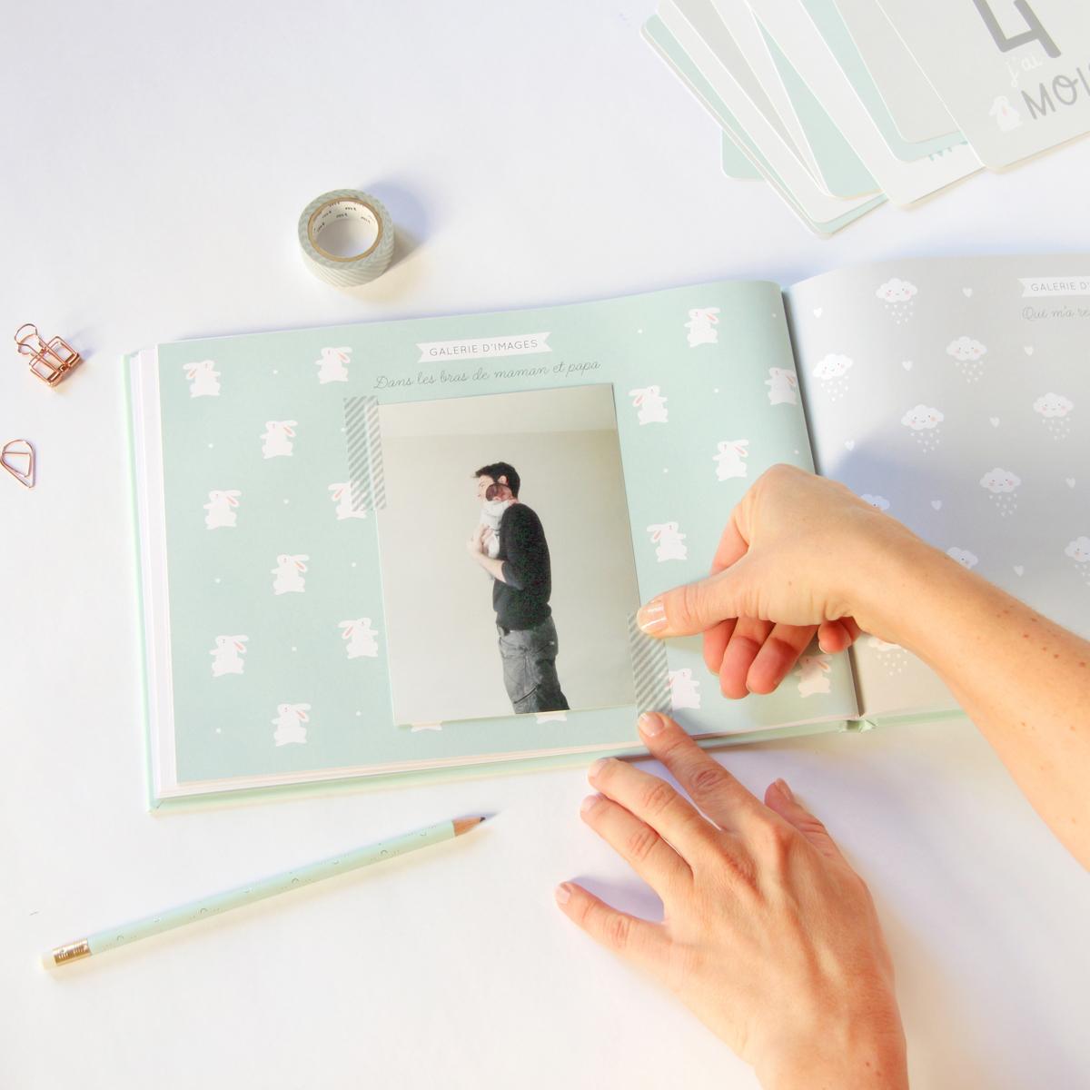 z mon album de b b album naissance z sur l 39 armoire de. Black Bedroom Furniture Sets. Home Design Ideas