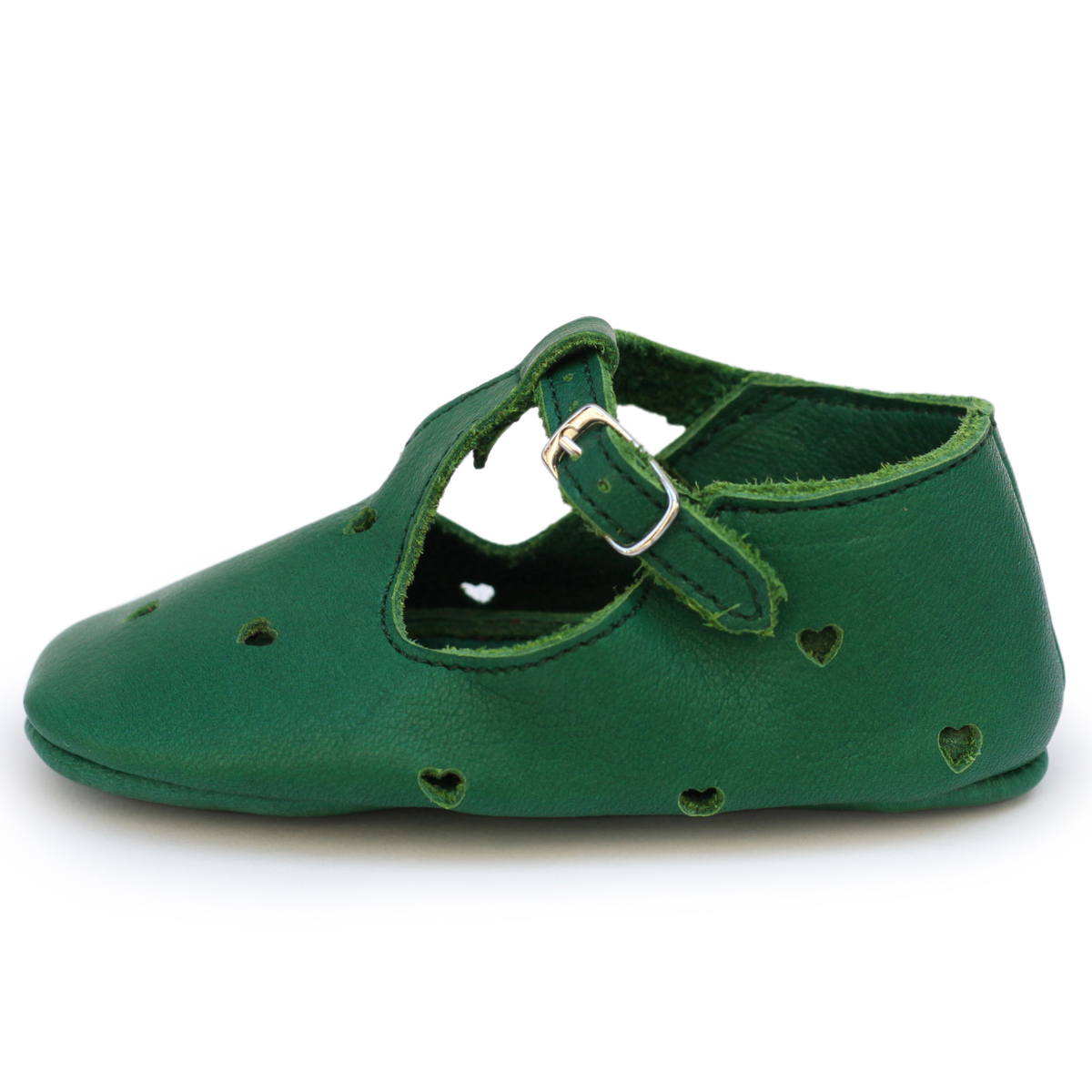 Chaussons & Chaussures Sandales Coeur 3/6 mois - Vert Prairie Sandales Coeur 3/6 mois - Vert Prairie