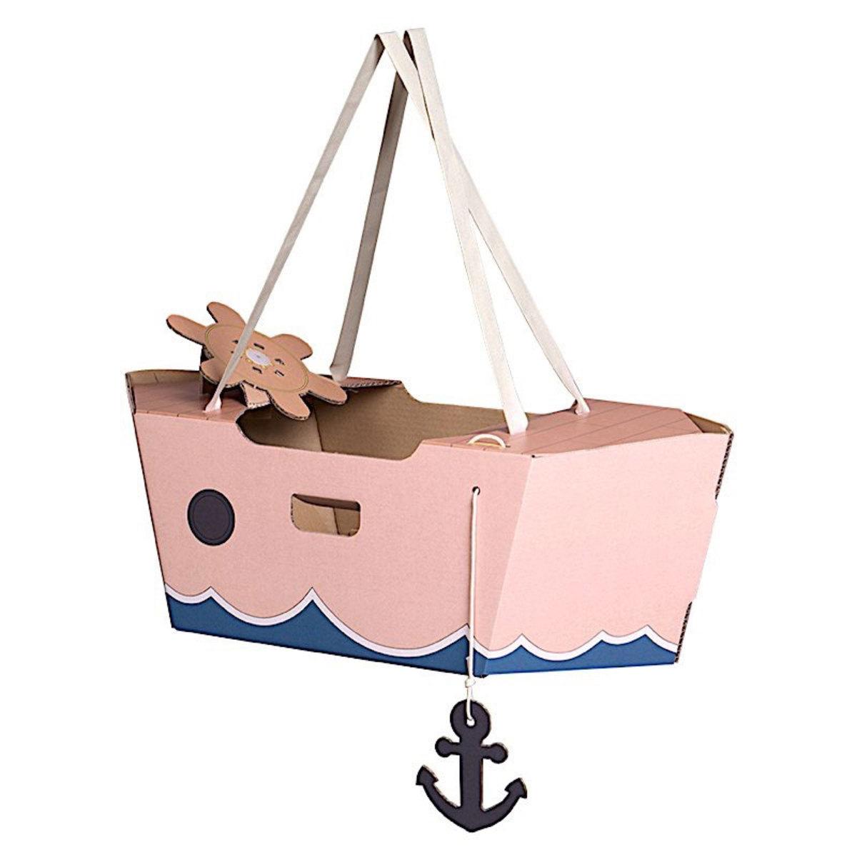 Mes premiers jouets Tody Boat Rose Tody Boat Rose