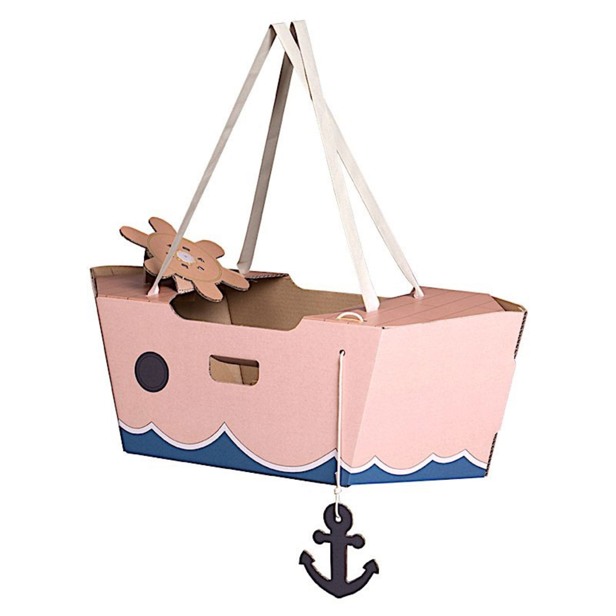 Mes premiers jouets Tody Boat Rose