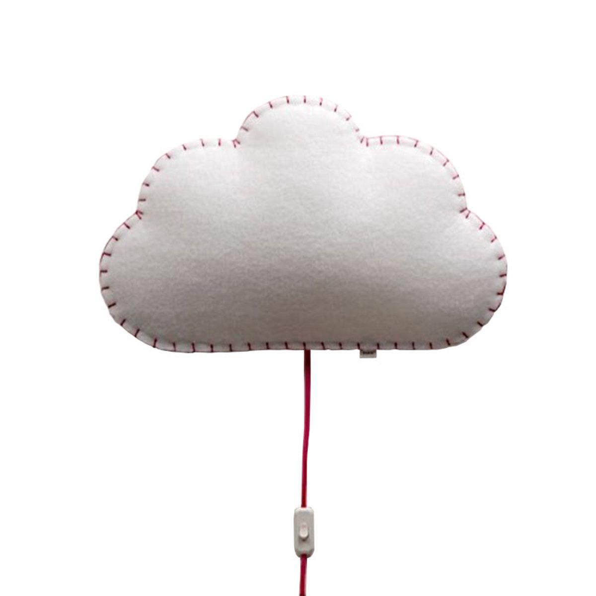 Suspension  décorative Soft Light - Applique Nuage Rose Soft Light - Applique Nuage Rose