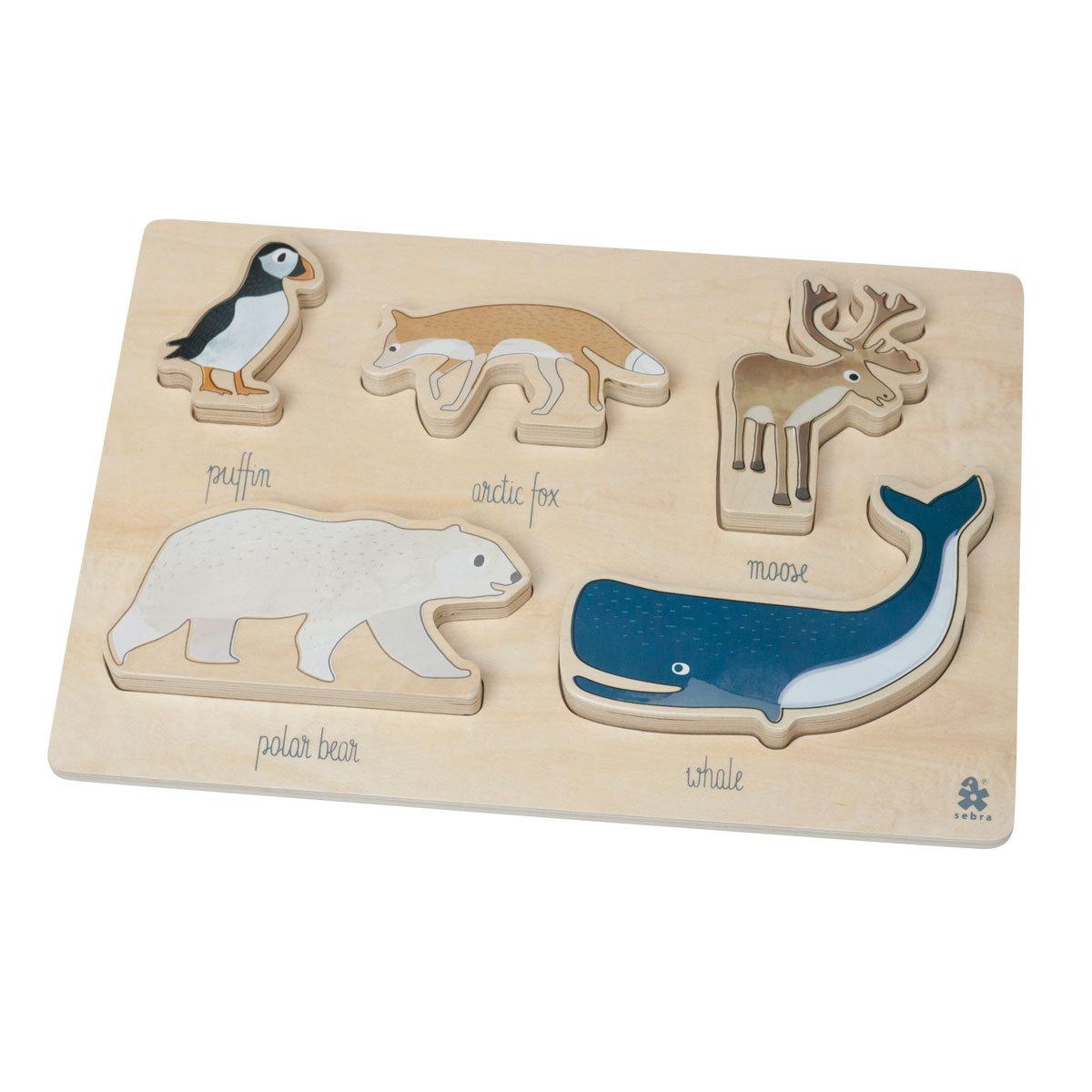 Mes premiers jouets Puzzle Arctic Animals Puzzle Arctic Animals