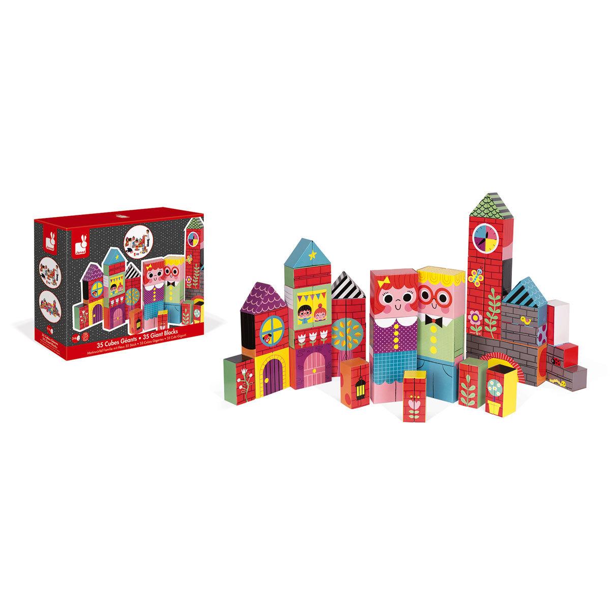 Mes premiers jouets 35 Cubes Géants - Kubkid 35 Cubes Géants - Kubkid