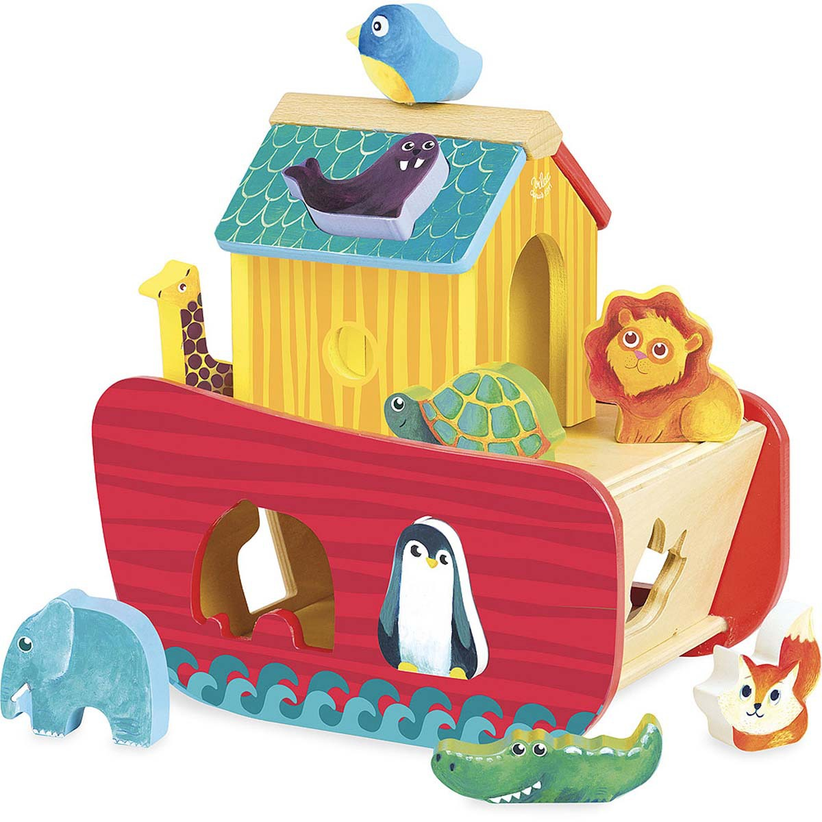 Mes premiers jouets Arche des Animaux et des Formes