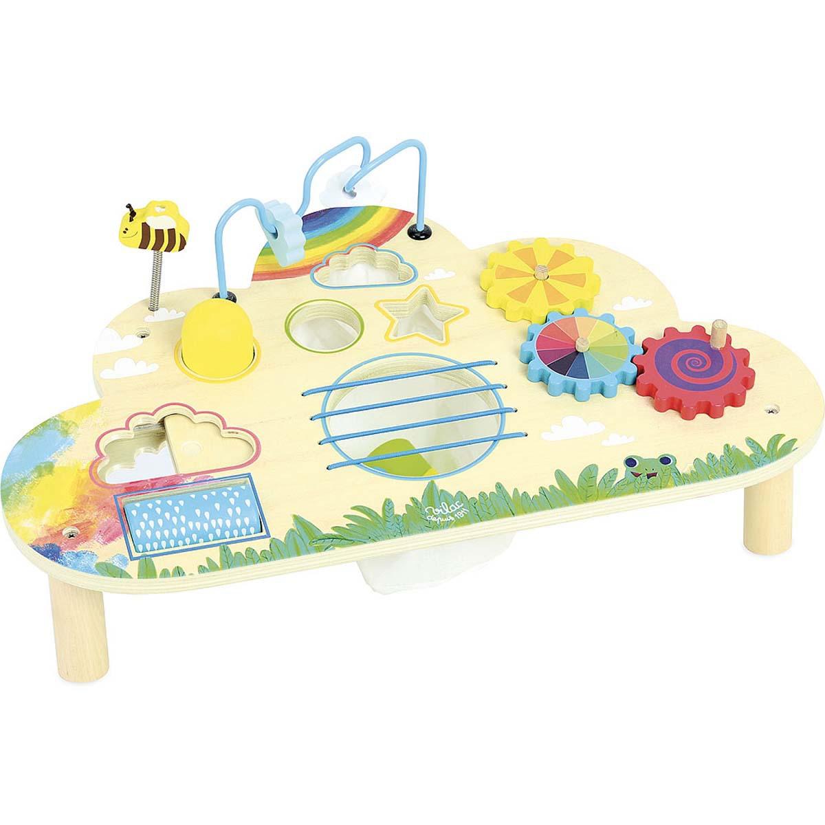 Mes premiers jouets Table d'Eveil Arc-en-Ciel Table d'Eveil Arc-en-Ciel