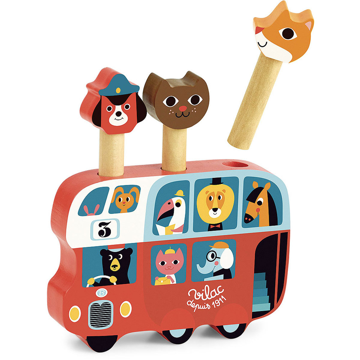 Mes premiers jouets Pop-Up Autobus par Ingela P. Arrhenius Pop-Up Autobus par Ingela P. Arrhenius
