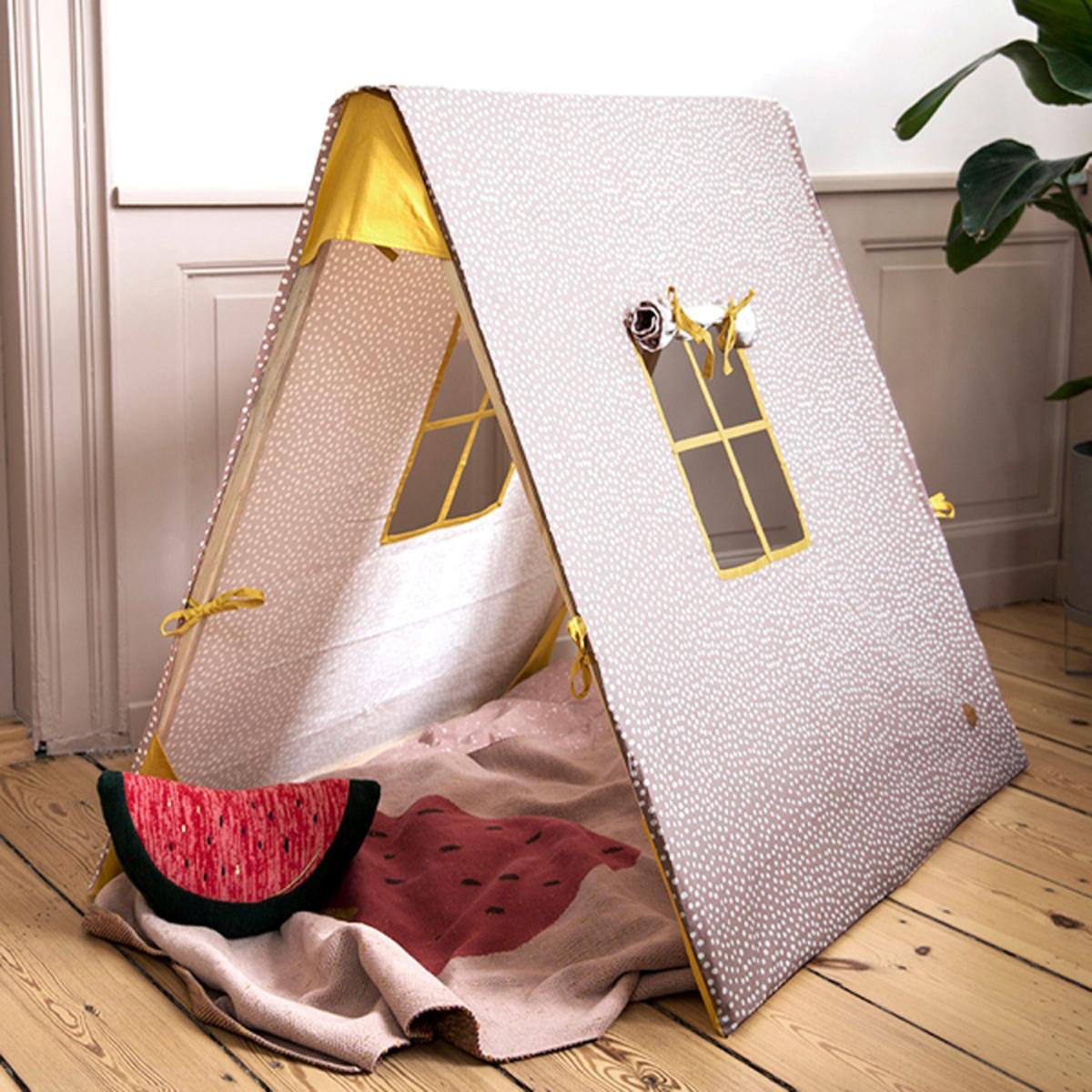ferm living tente vague curry tipi ferm living sur l. Black Bedroom Furniture Sets. Home Design Ideas