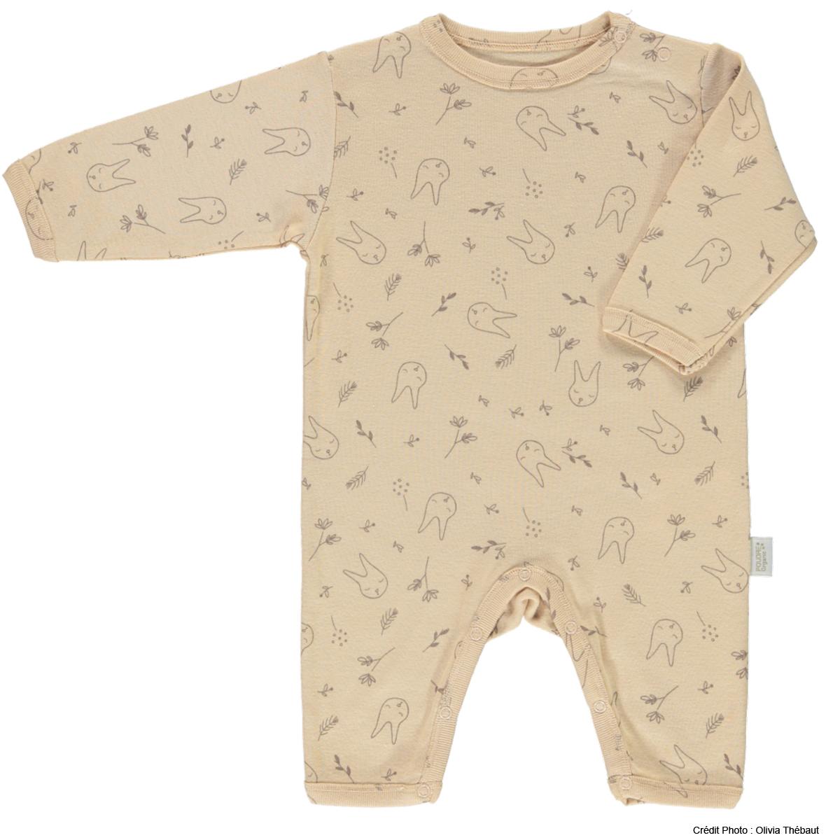 Body et Pyjama Pyjama Armoise Amberlight et Motifs Lapin - 12 mois Pyjama Armoise Amberlight et Motifs Lapin - 12 mois