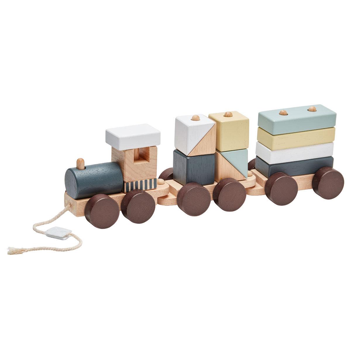 Mes premiers jouets Train en Bois avec Blocs - NEO