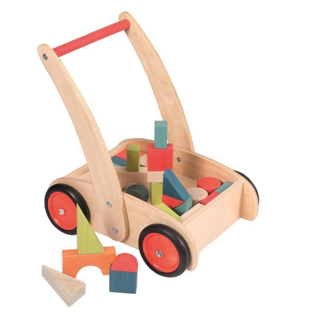 Egmont Toys Chariot de Marche avec Blocs
