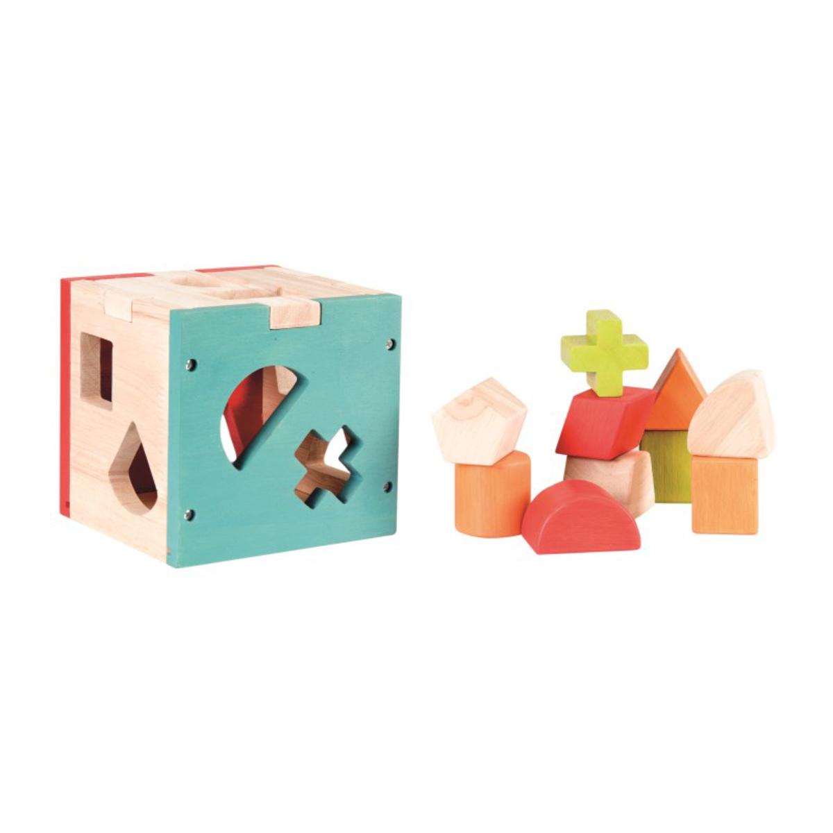 Mes premiers jouets Cube à Formes 5 Couleurs Cube à Formes 5 Couleurs