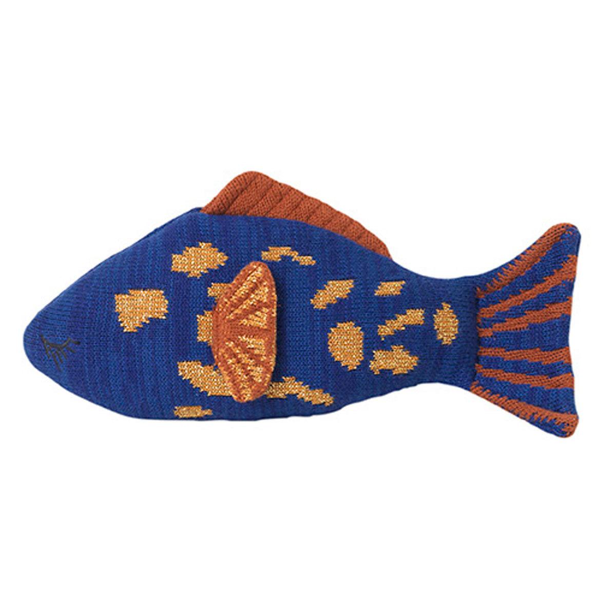 Coussin Coussin Fruiticana Poisson - Léopard Bleu