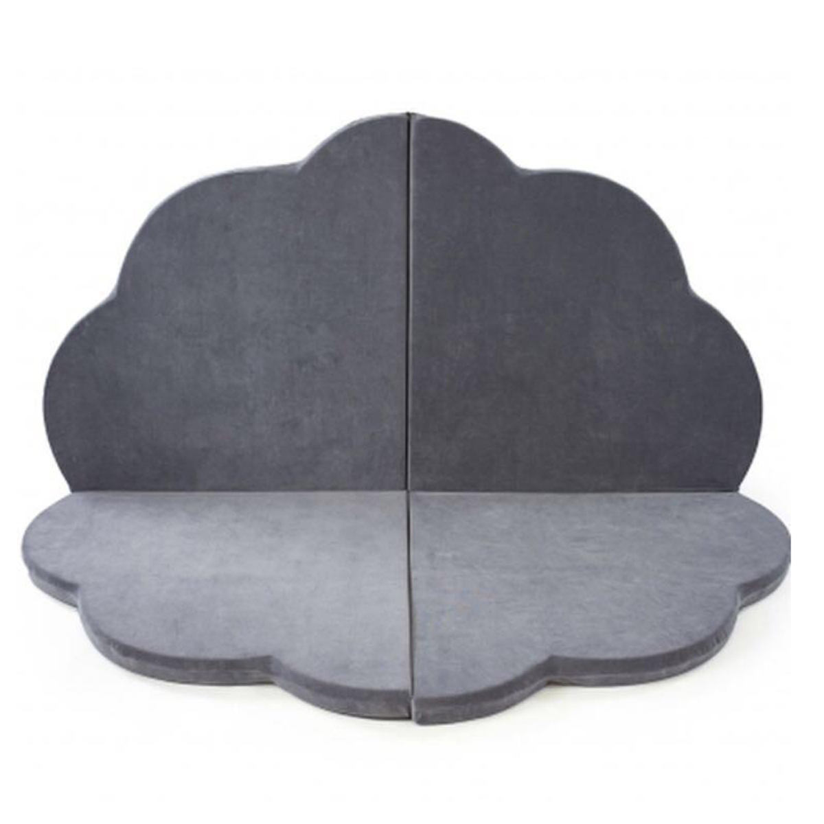 misioo tapis de jeu nuage gris tapis veil misioo sur. Black Bedroom Furniture Sets. Home Design Ideas