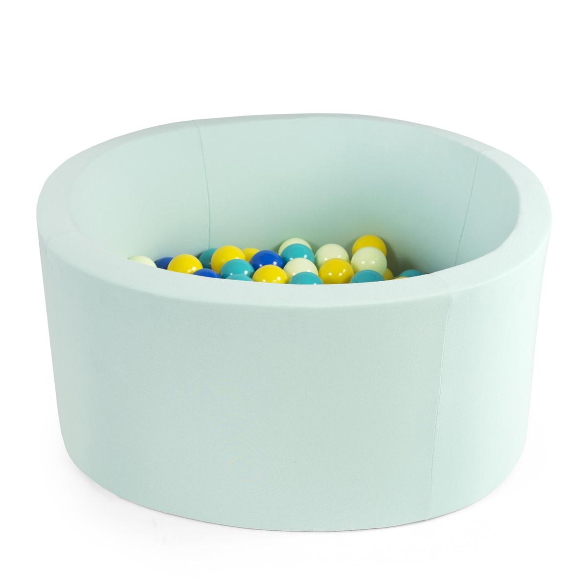 Mes premiers jouets Piscine à Balles Ronde Menthe 100 cm + Balles BTGT Piscine à Balles Ronde Menthe 100 cm + Balles BTGT