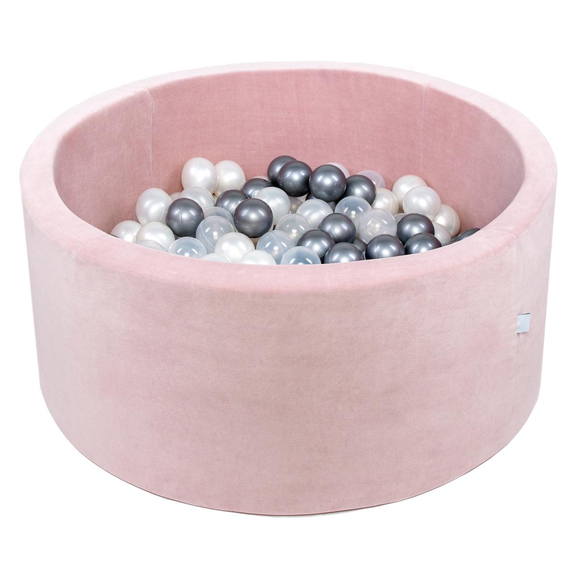 Mes premiers jouets Piscine à Balles Rose Pale 100 cm + Balles RBGT Piscine à Balles Rose Pale 100 cm + Balles RBGT