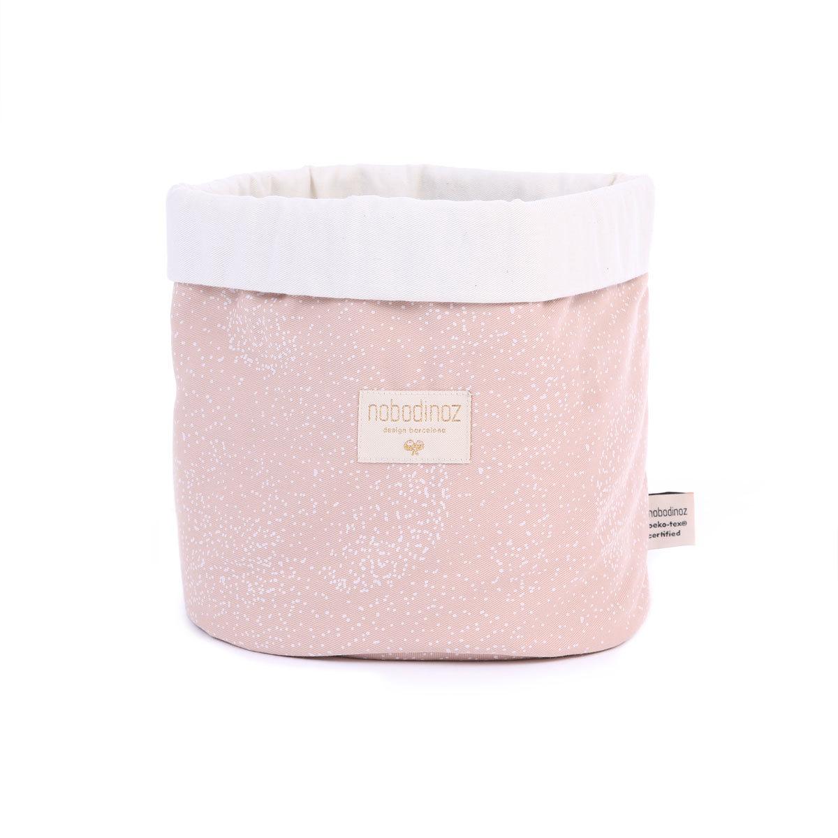 Panier & corbeille Panier de Rangement Panda - White Bubble / Misty Pink Panier de Rangement Panda - White Bubble / Misty Pink