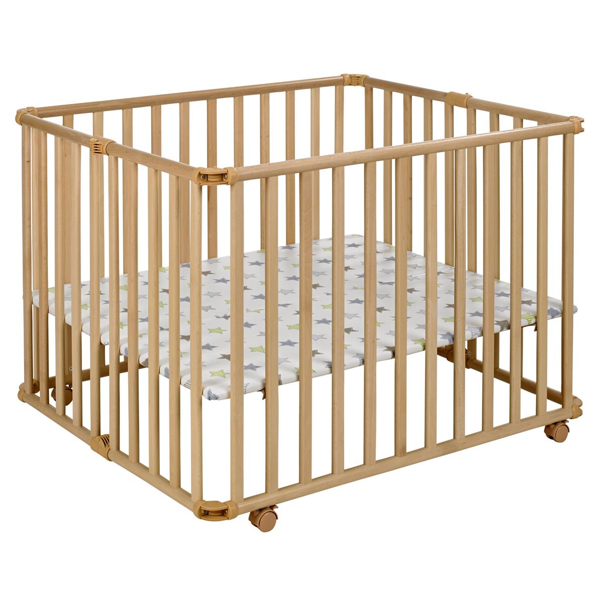 geuther parc b b ameli pliable naturel parc b b geuther sur l 39 armoire de b b. Black Bedroom Furniture Sets. Home Design Ideas