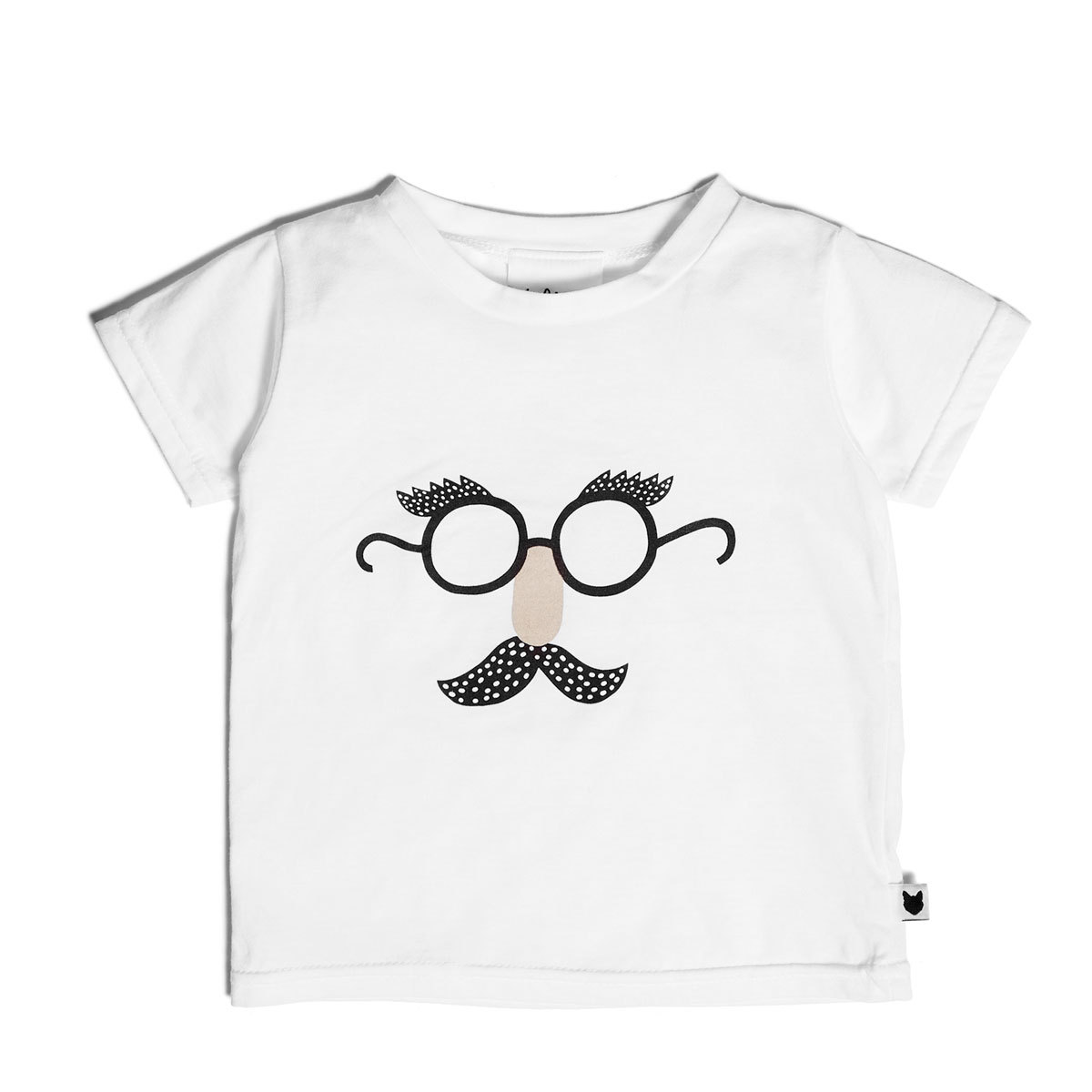 Hauts bébé Tee-Shirt Funny Face - 0/6 Mois
