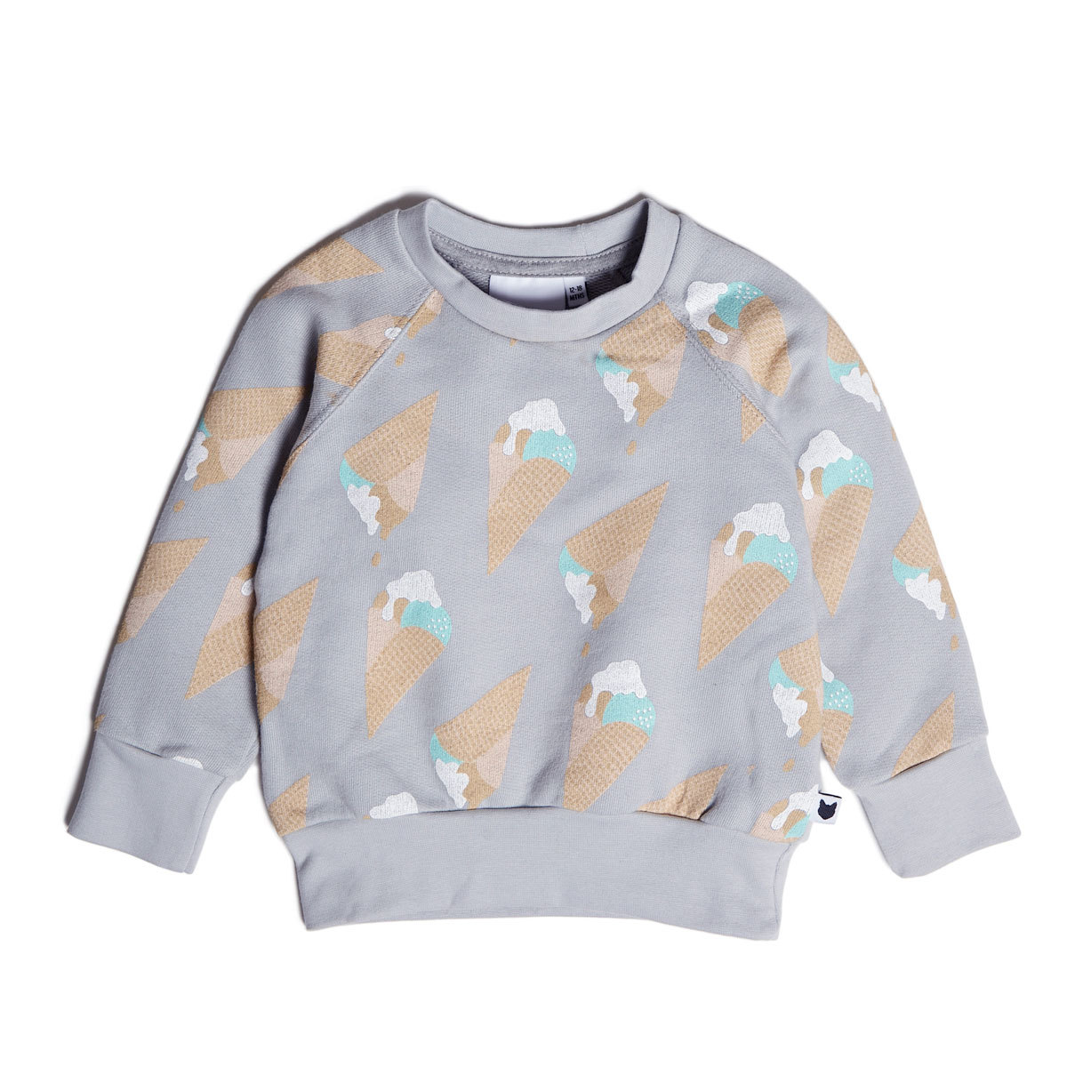 Hauts bébé Sweatshirt Ice Cream - 2/3 Ans Sweatshirt Ice Cream - 2/3 Ans