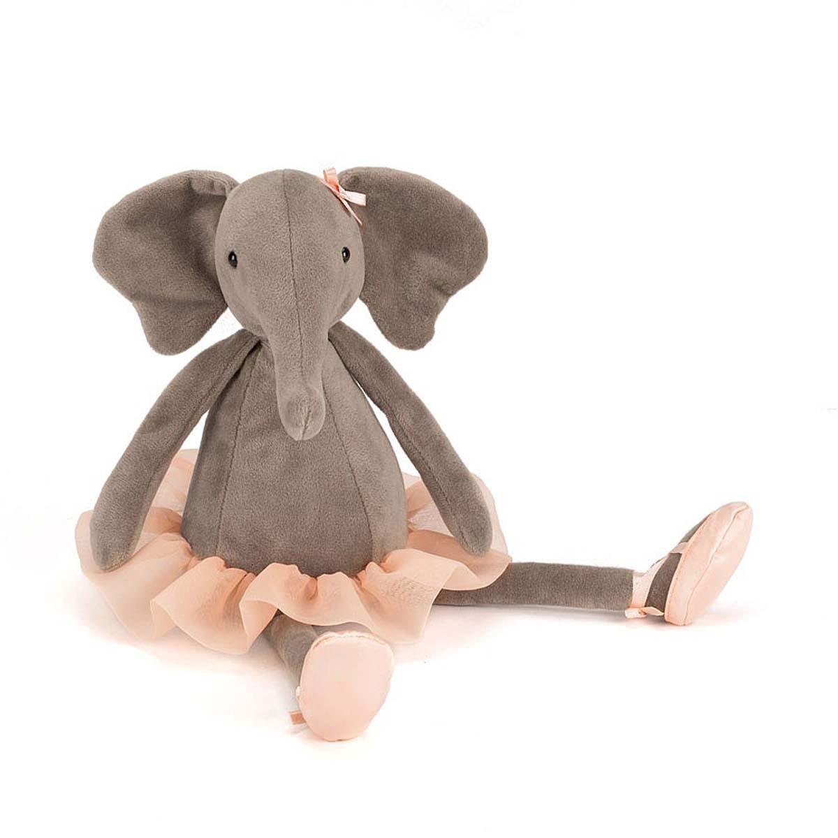 Peluche Dancing Darcey Elephant - Medium