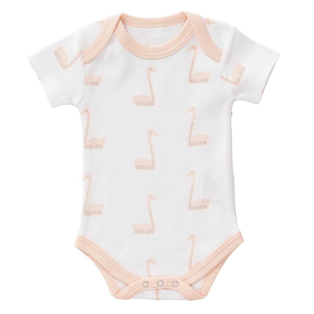 Body & Pyjama Body Manches Courtes Cygnes - 0/3 Mois Fresk - AR201802230249