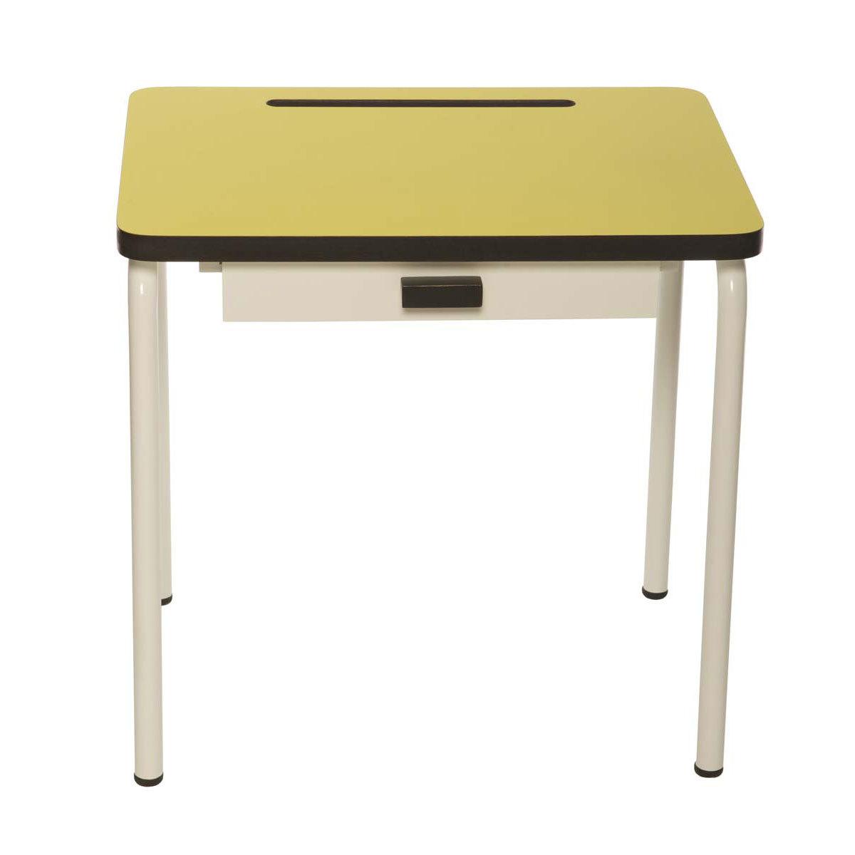 Table & Chaise Bureau Régine - Jaune Citron