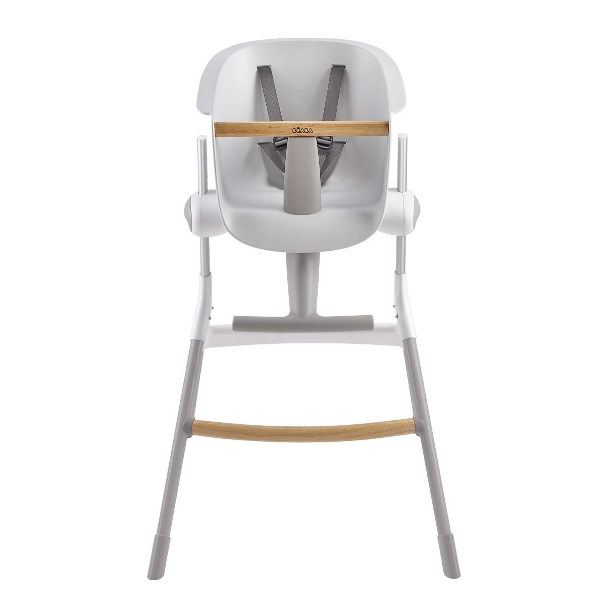 b aba chaise haute up down gris blanc chaise haute b aba sur l 39 armoire de b b. Black Bedroom Furniture Sets. Home Design Ideas