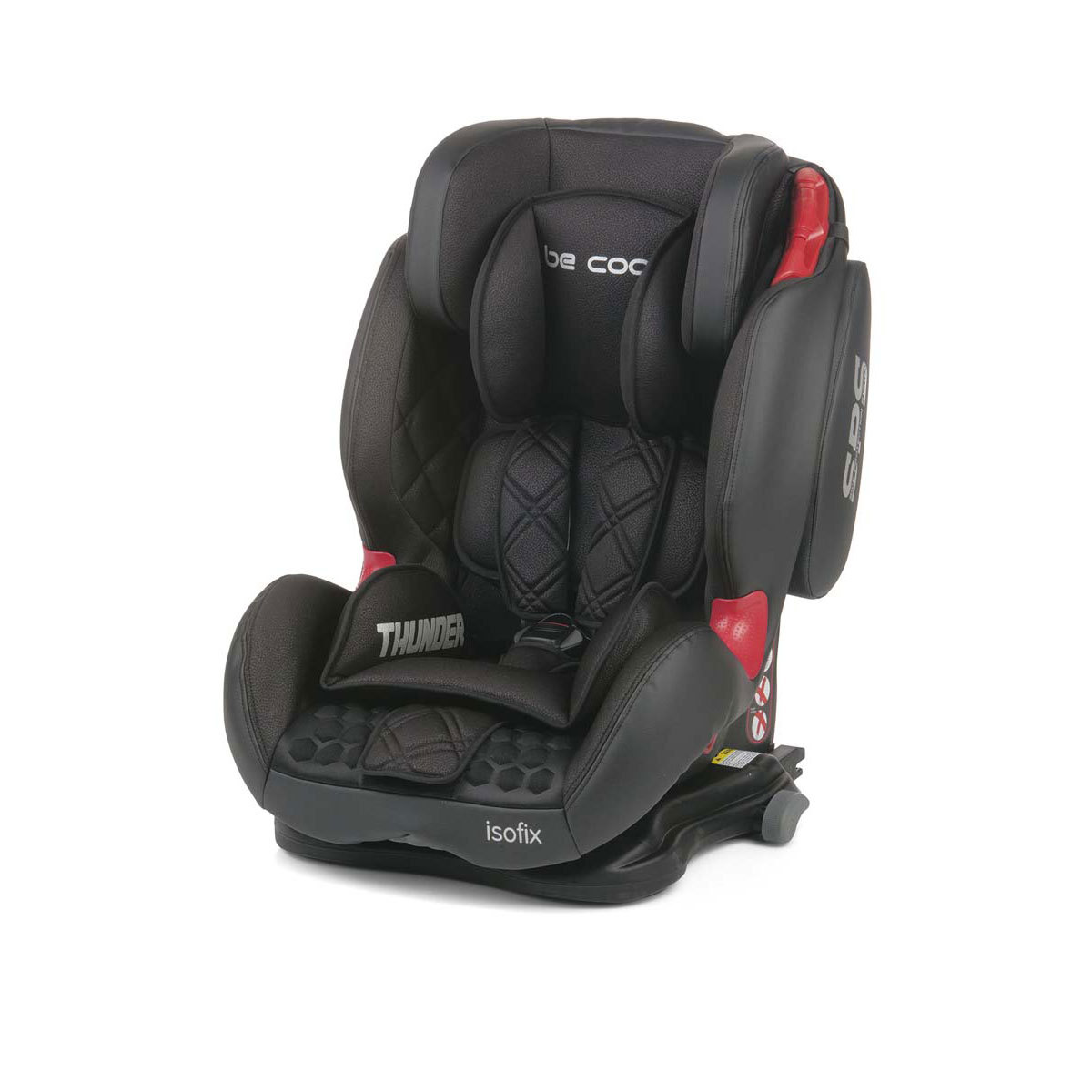 be cool si ge auto thunder isofix groupe 1 2 3 m t orite si ge auto et coque be cool sur l. Black Bedroom Furniture Sets. Home Design Ideas
