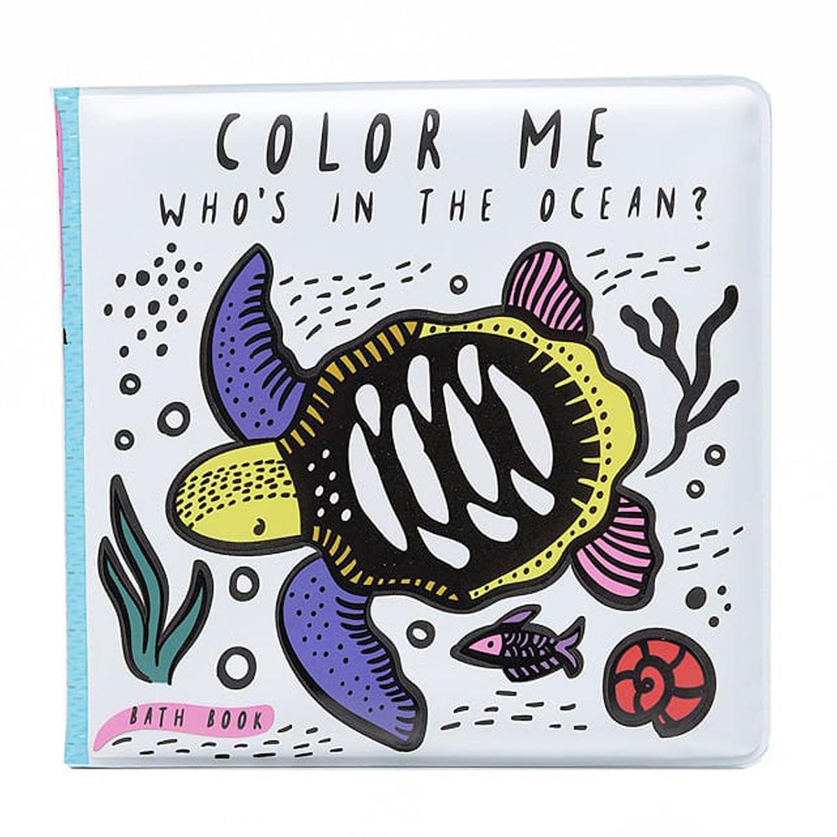 Livre & Carte Livre de Bain Colour Me - Ocean Livre de Bain Colour Me - Ocean