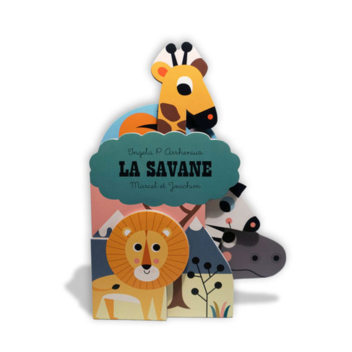 Livre & Carte Collection Les Ingela - La Savane Collection Les Ingela - La Savane