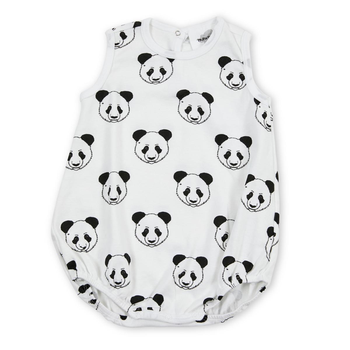 Robe & Combinaison Baba Barboteuse Panda - 6 Mois