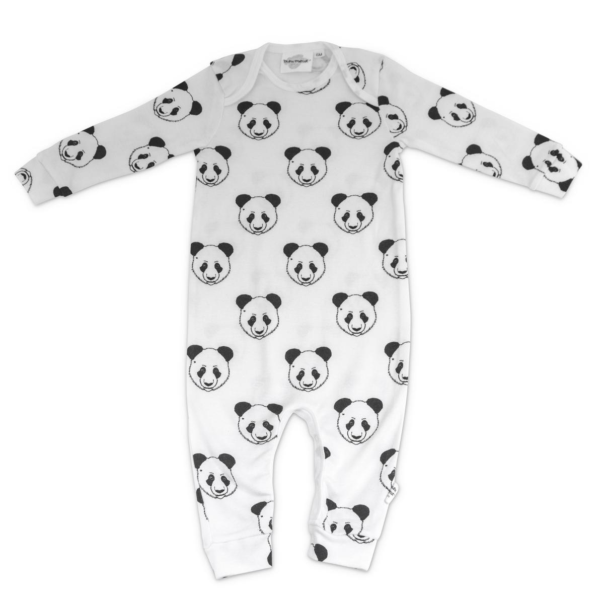 200f6417eb2bc Body et Pyjama Pyjama Bobo Sans Pieds Panda - 12 Mois Pyjama Bobo Sans Pieds  Panda
