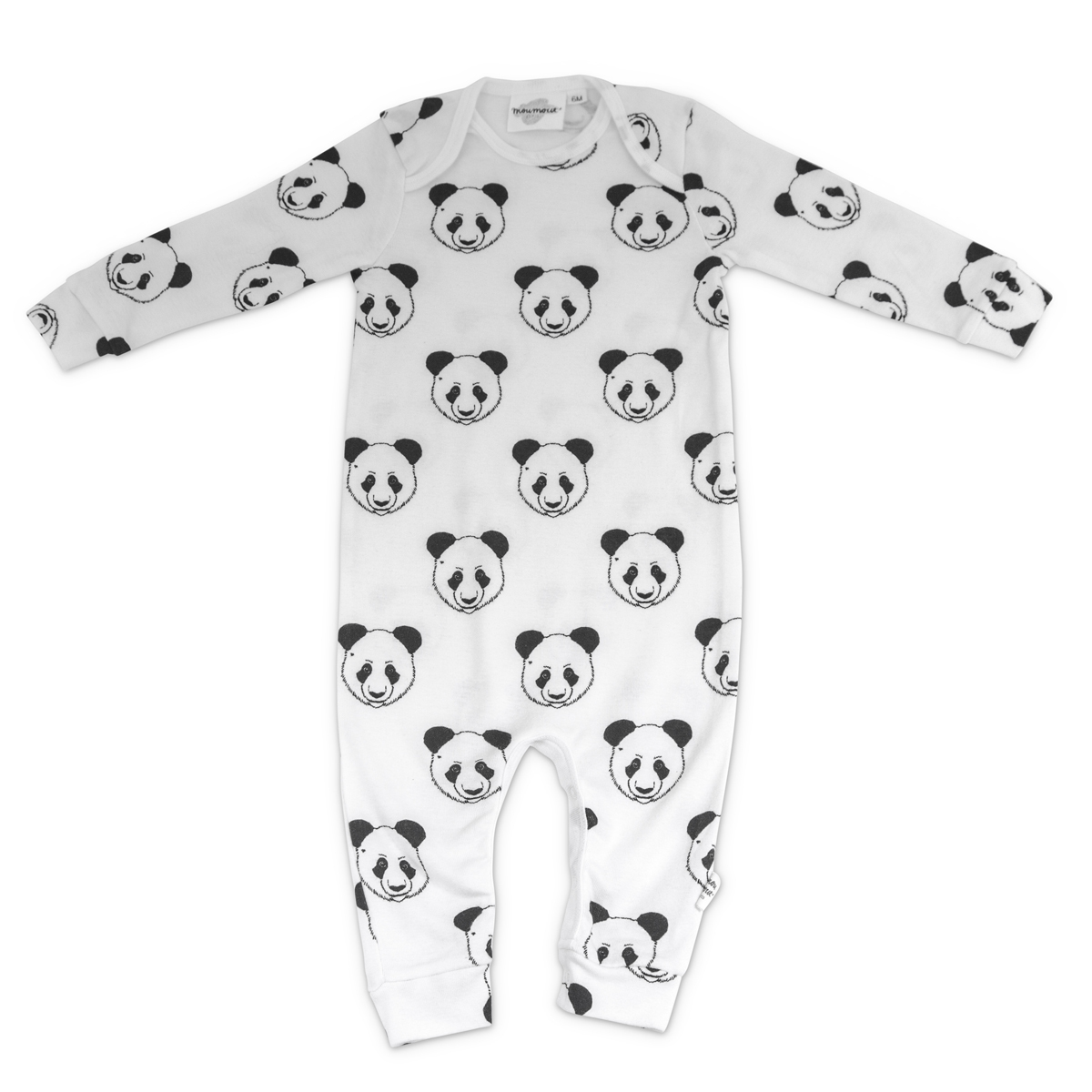 moumout pyjama bobo sans pieds panda 24 mois body pyjama moumout sur l 39 armoire de b b. Black Bedroom Furniture Sets. Home Design Ideas