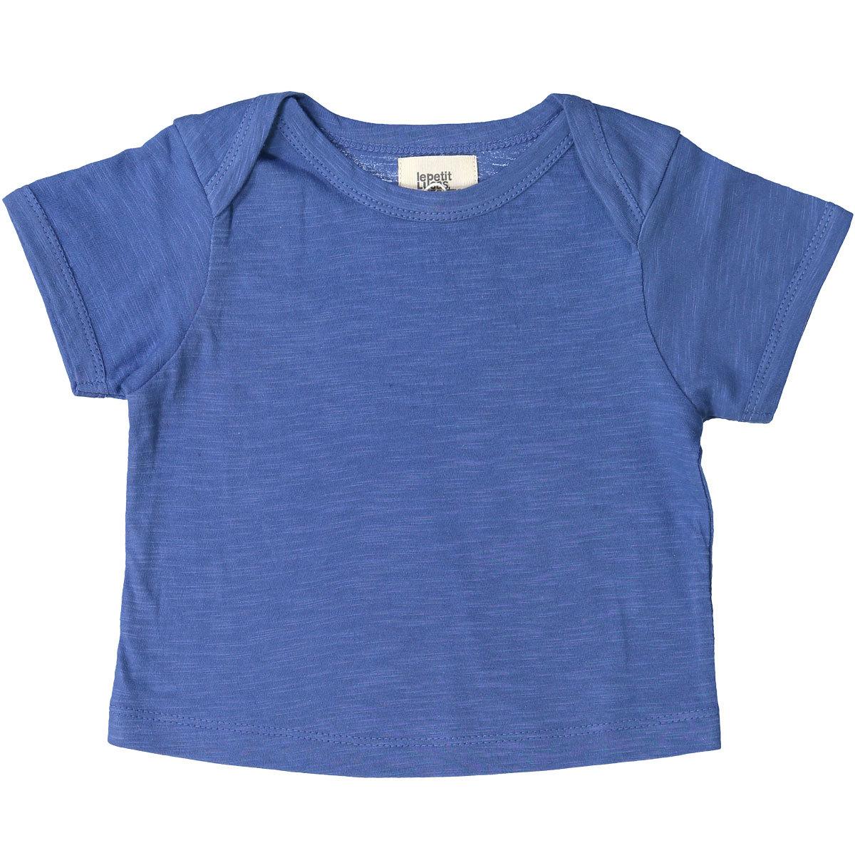 Hauts bébé T-Shirt Vadim - Solid Delft Blue - 3 Ans T-Shirt Vadim - Solid Delft Blue - 3 Ans