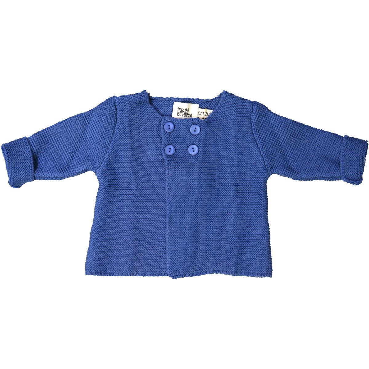 Hauts bébé Cardigan Julia - Blue - 6/9 Mois Cardigan Julia - Blue - 6/9 Mois