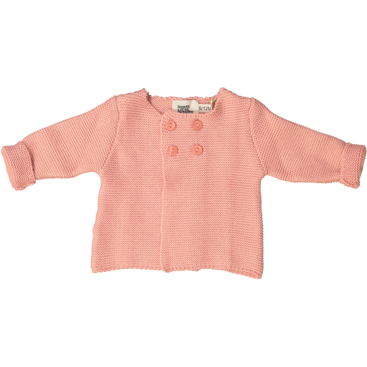 Haut bébé Cardigan Julia - Rose - 3/6 Mois Cardigan Julia - Rose - 3/6 Mois