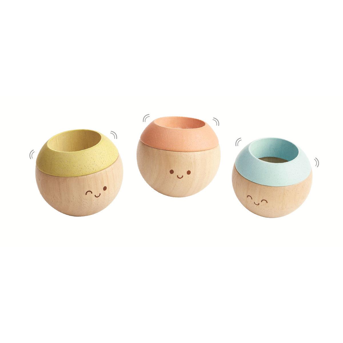Mes premiers jouets Têtes Sensorielles - Pastel Têtes Sensorielles - Pastel