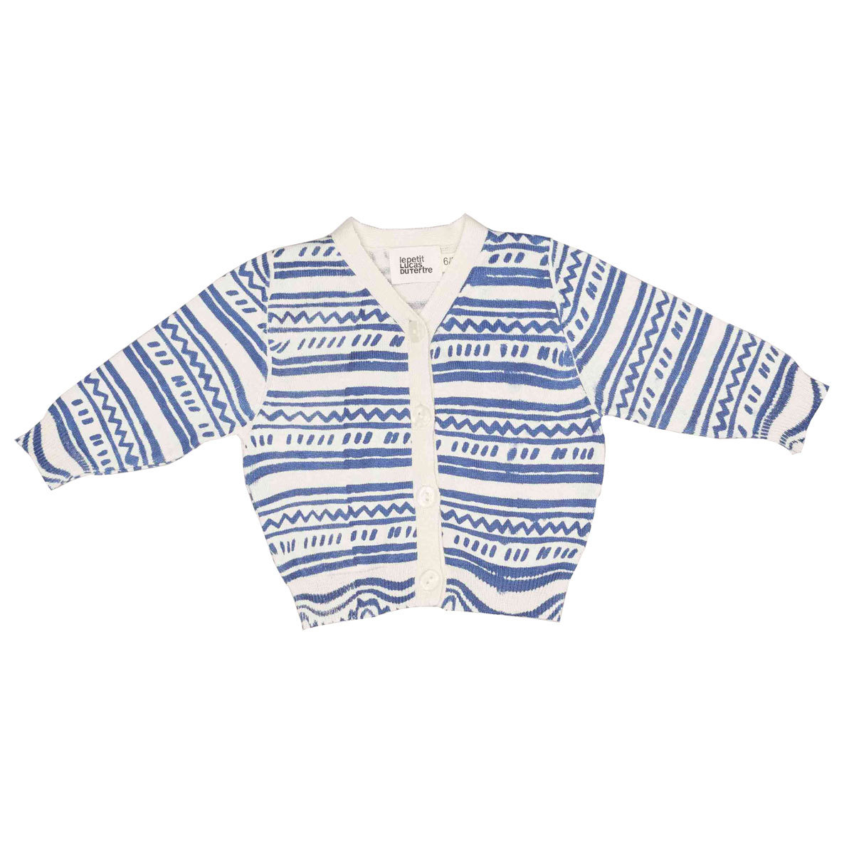 Hauts bébé Cardigan George - Matisse Stripes - 3 Ans Cardigan George - Matisse Stripes - 3 Ans