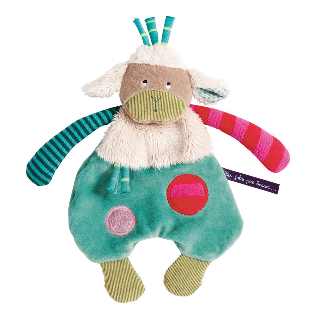 """Doudou Doudou Mouton """"Les Jolis Pas Beaux"""" Doudou Mouton """"Les Jolis Pas Beaux"""""""