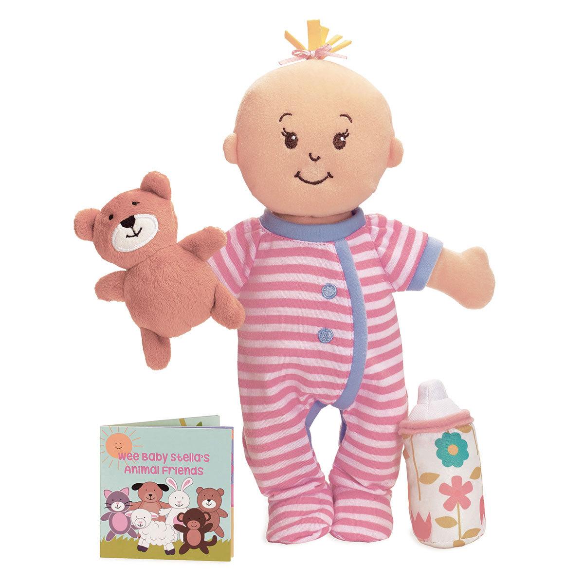 Mes premiers jouets Wee Baby Stella (avec Accessoires Aimantés) Wee Baby Stella (avec Accessoires Aimantés)