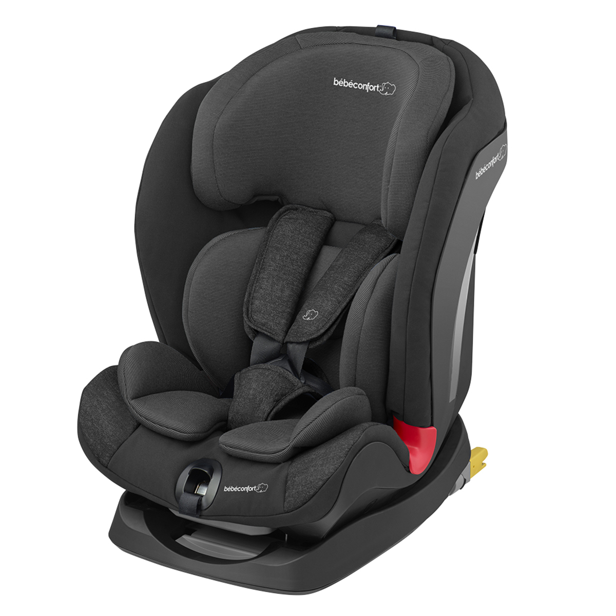 b b confort si ge auto titan isofix groupe 1 2 3 nomad black si ge auto et coque b b. Black Bedroom Furniture Sets. Home Design Ideas